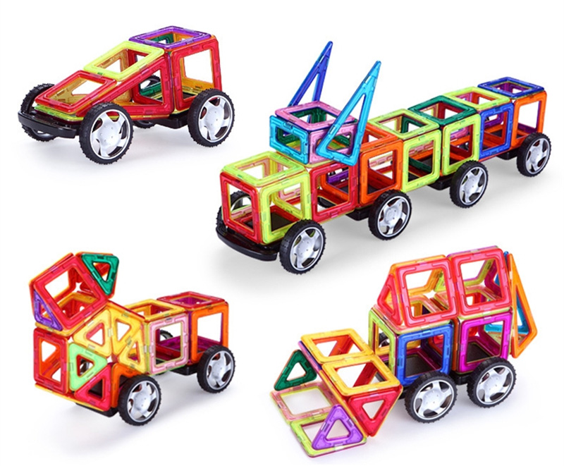 Magnetic Toy Building Set