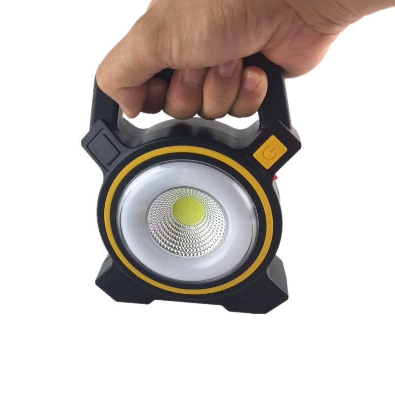 Solar LED Flashlight Waterproof Camping Lamp Portable Lantern Mini Tent USB rechargeable Light Emergency Lamp Torch Light