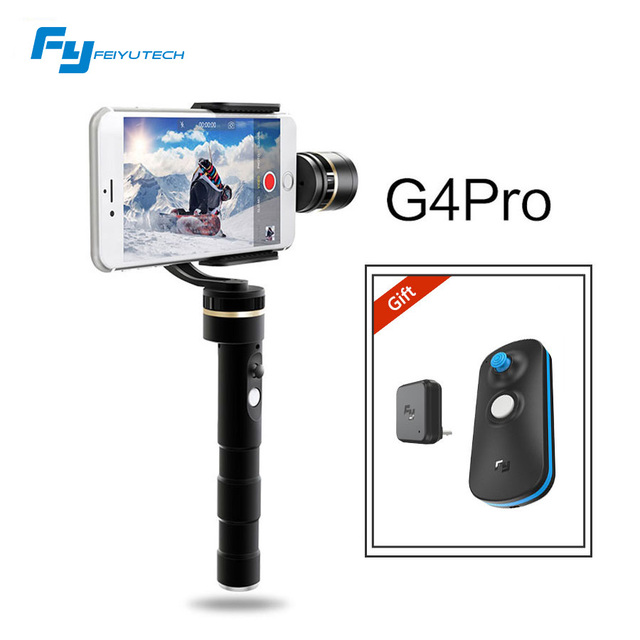 Feiyutech G4Pro 3 axis brushless handheld gimbal for iphone 6s+ 6s 6+ 6