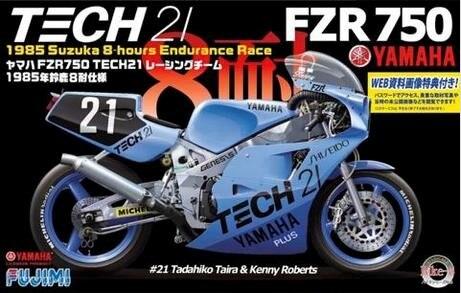 1/12 Yamaha Fzr750 Tech21 85 14131