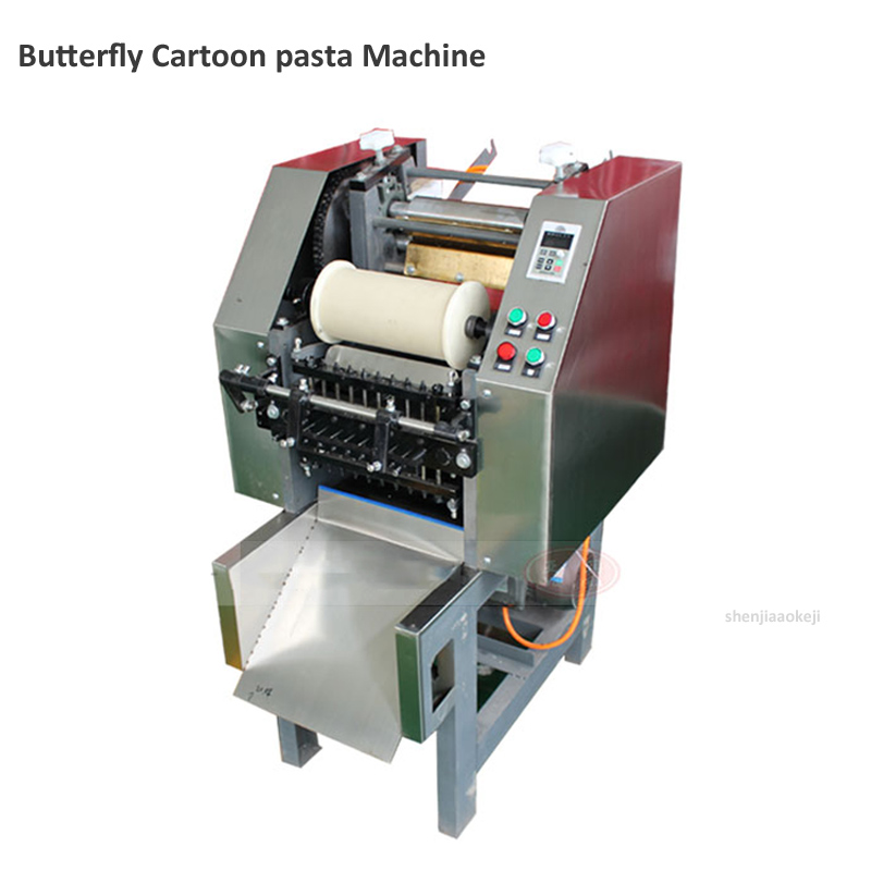 New Butterfly-shape Pasta Machine Commercial Automatic Fruit & Vegetable Color Noodles Machine Flour Skin Machine 220v/380v 1pc