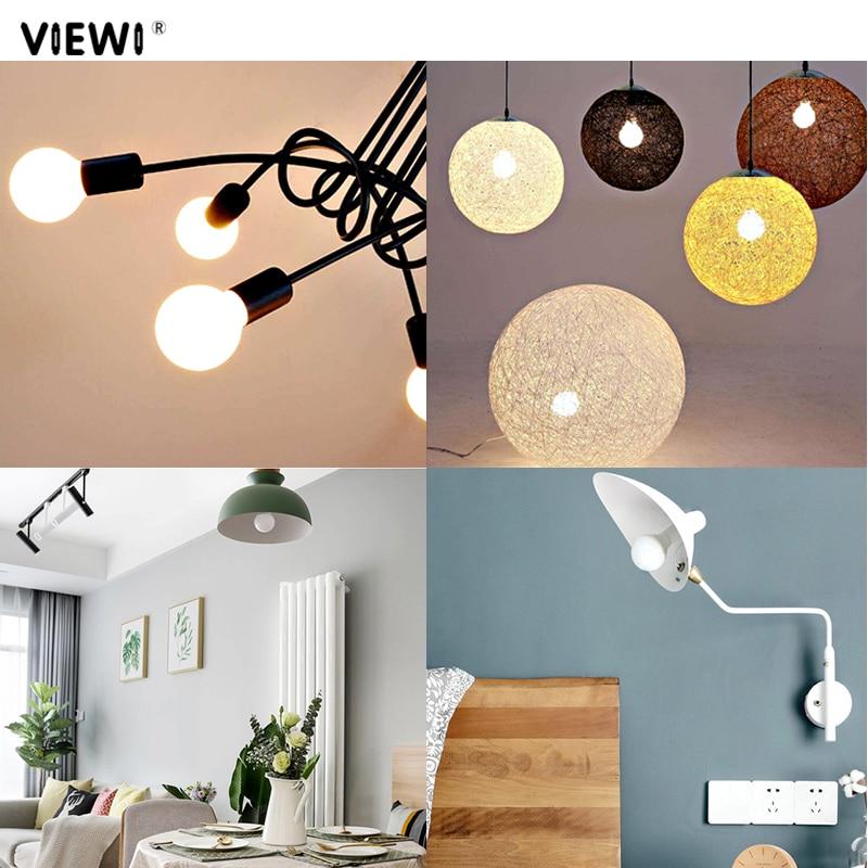 Купить с кэшбэком 4 pcs ampoule led bulb light E27 B22 12 24 110 220 volt 3W COB home lighting 12v 24v energy saving Globe ball lamp warm white