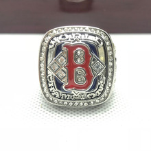 Fashion Wholesale Sport Ring 2004 Boston Red Sox World Series Championship Ring For Men Big Ring Size 11