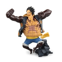1 Pcs SCultures One Piece Luffy Gear 4 Anime Figure Model Toys 18 CM One Piece Luffy Toy Figurine Japanese Anime Figure Gifts