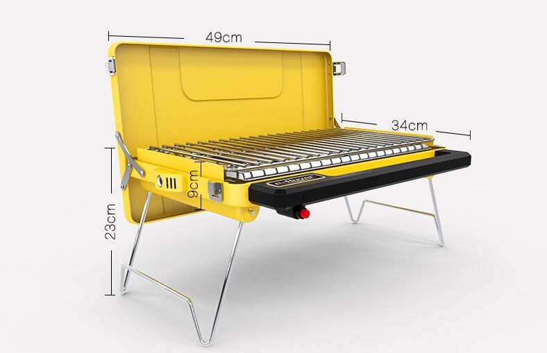 Nexgrill Stainless Steel Portable Propane Gas Table Top Grill delivers high grilling results. Lockable lid and foldable legs for easy bibresipa.ga: $