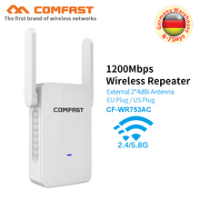 Comfast 1200Mbps High Speed Dual Band Wifi Signal Extender 5.8G Access Point Wireless Transmission Wi-fi Repeater Router antenna