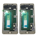 For Samsung Galaxy C7 C7000 SM-C7000 Front Cover Case LCD Frame Mid Housing Chassis Bezel Faceplate Replacement Parts