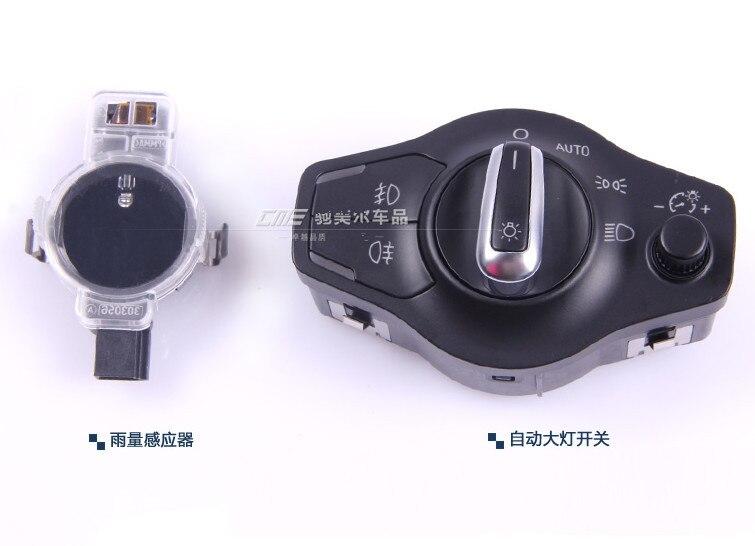 Automatic headlight switch Button + Rain sensor FOR AUDI  A4 B8 Q5 A5  8K0 941 531 AS + 8U0 955 559 B genuine 1set chrome window mirror trunk switch button combo for audi a6 a7 c7 q3 4g0 959 851 b 4gd 959 565 a