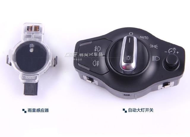 Automatic headlight switch Button + Rain sensor FOR AUDI  A4 B8 Q5 A5  8K0 941 531 AS + 8U0 955 559 B
