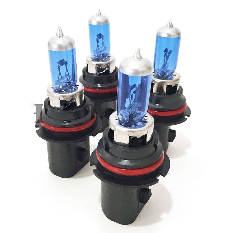 2pcs Super White Halogen Bulb 9007 12V 100/90W Quartz Glass  Car Headlight LampNew