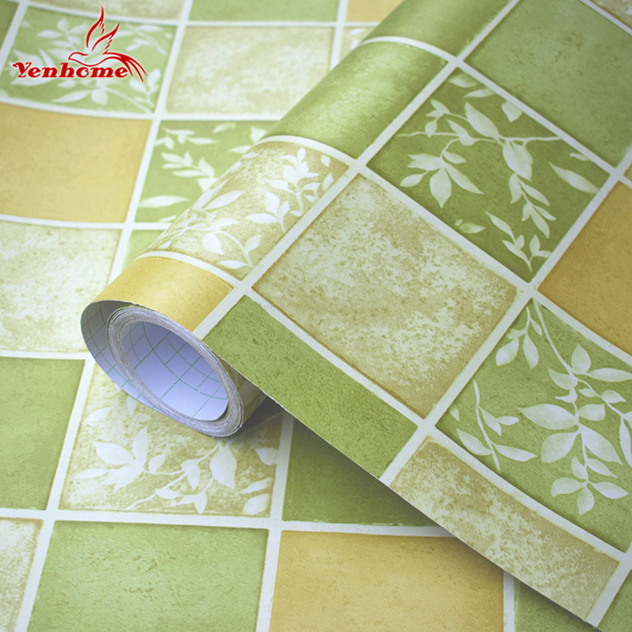 Peel And Stick Wallpaper In Bathroom: Vinyl Mosaic Tiles Decals Waterproof Self Adhesive