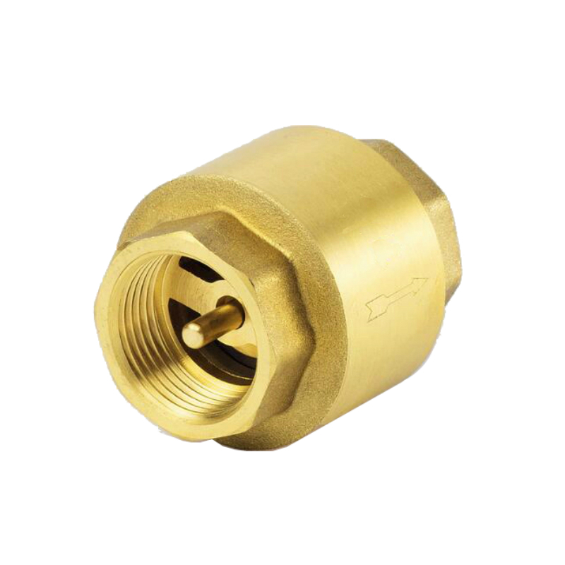 Brass Check Valve Thread In-Line Spring Vertical Check Valve 200WOG 1/2 3/4 1 Female BSP Non Retrun Valve chauvet dj slim par 64 rgba