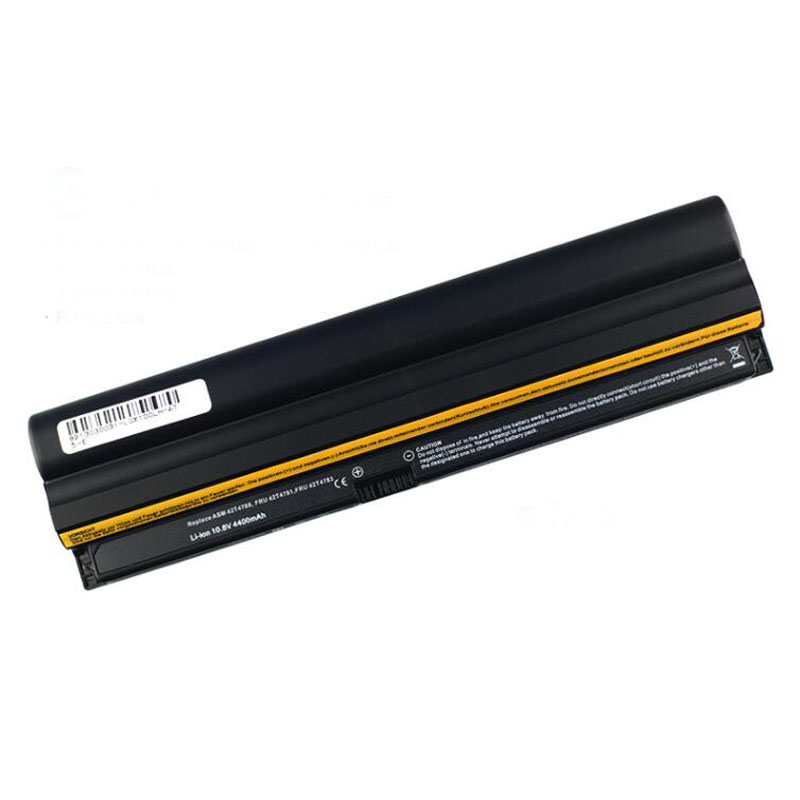 10.8V 4400mAh Laptop Battery Pack for Lenovo Thinkpad X100E X120E Edge E10 E30 57Y4559 57Y4558 42T4786 42T4781 42T4787