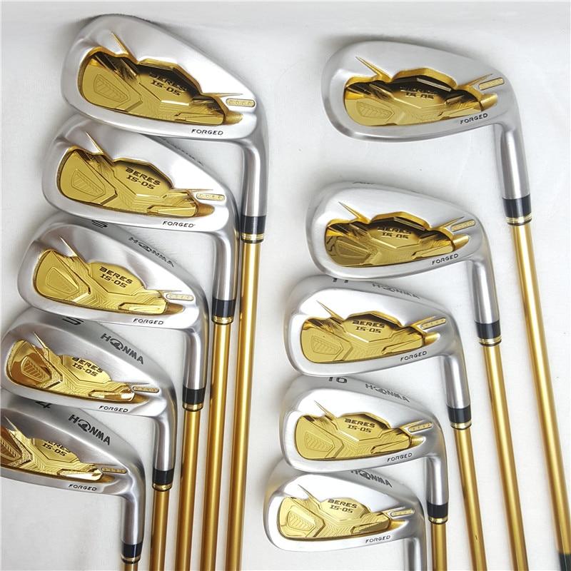 Golf Clubs ensemble complet Honma Bere S-05 4 étoiles golf club ensembles pilote + Fairway + fer de Golf + putter (14 pièces) pas de sac de Golf - 3