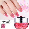 Ekbas Super shine Glitter gel 72 colors Effect Long Lasting Soak Off Gel nails 13ml Starry Gel UV GEL Lacquer