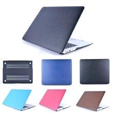 Haute qualité en cuir Cas Pour macbook Air 11 pro 13 pro 15 Pro Retina 12 13 15 mallette pour ordinateur portable Pour Mac book air 13 pouce cadernos
