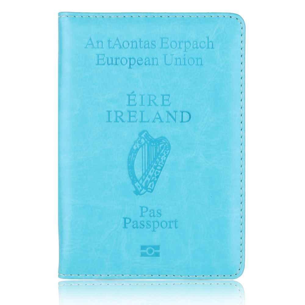 54fc0400f154 Hot Sale Ireland Travel Passport Holder Protector Case for Ireland ...