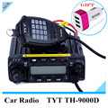 Digital TH9000D Mobile Transceiver 60W Full Frequency VHF Channel Step 5/6.25/8.33/10/12.5/15/20/25/30/50KHz  200 Memory Channel