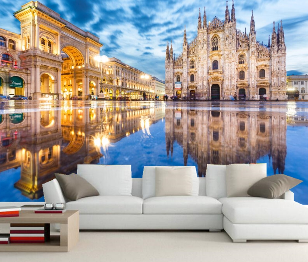 Custom 3d murals,Italy Milan Street Arch Town square city photo wallpaper,living room sofa tv wall bedroom restaurant wallpapers custom photo wallpaper tiger animal wallpapers 3d large mural bedroom living room sofa tv backdrop 3d wall murals wallpaper roll