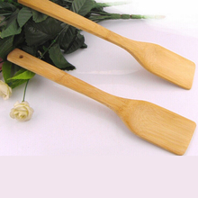Kitchen Cooking Tool Natural Bamboo Spatula Non-stick Cookware Scraper Utensil Furniture Craft Shovel
