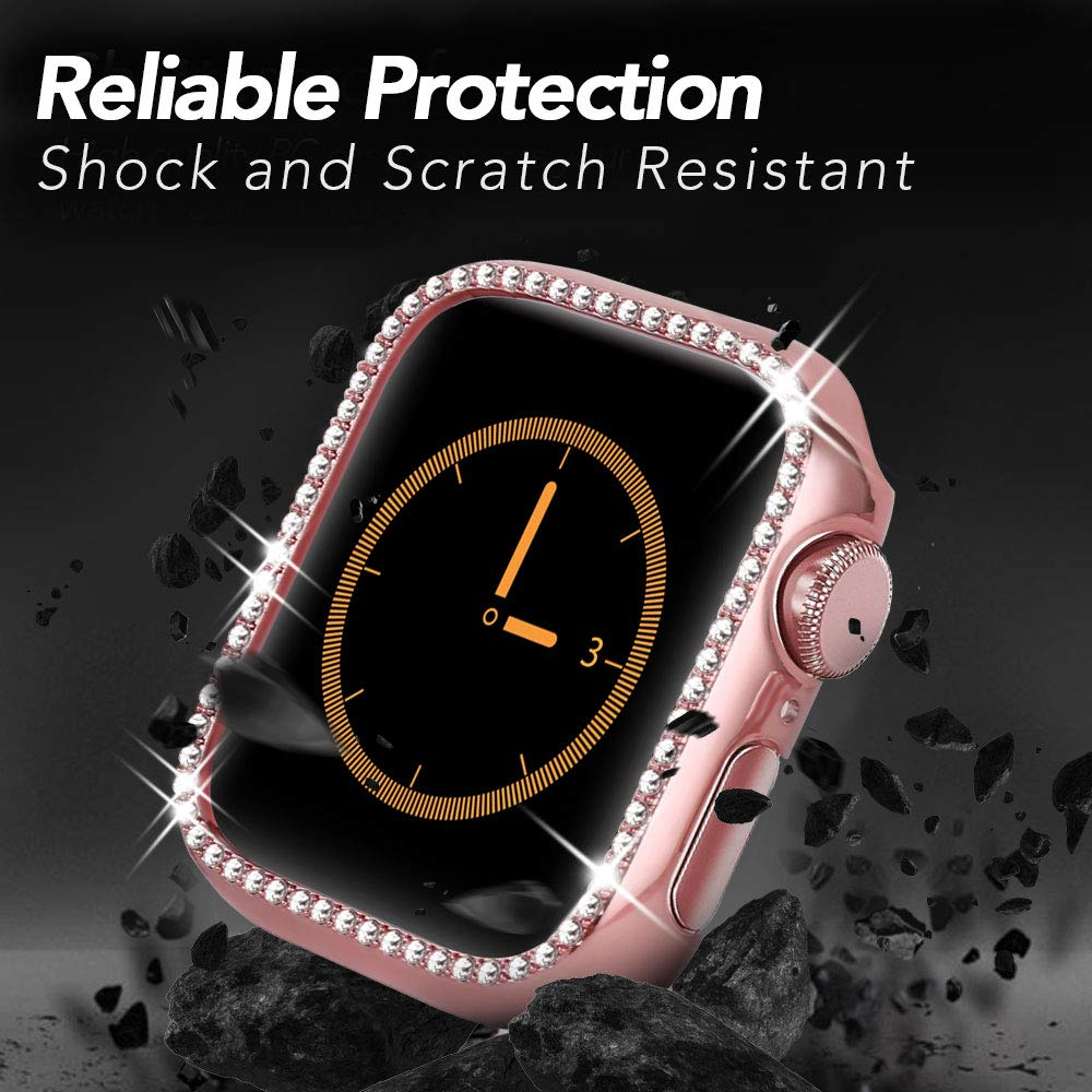Diamond Case For Apple Watch Series 4 5 40mm/44mm  2