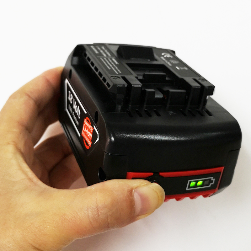 18V Rechargeable Li-ion battery cell pack 5000mah for BOSCH cordless Electric drill screwdriver BAT609,BAT609G, BAT61818V Rechargeable Li-ion battery cell pack 5000mah for BOSCH cordless Electric drill screwdriver BAT609,BAT609G, BAT618
