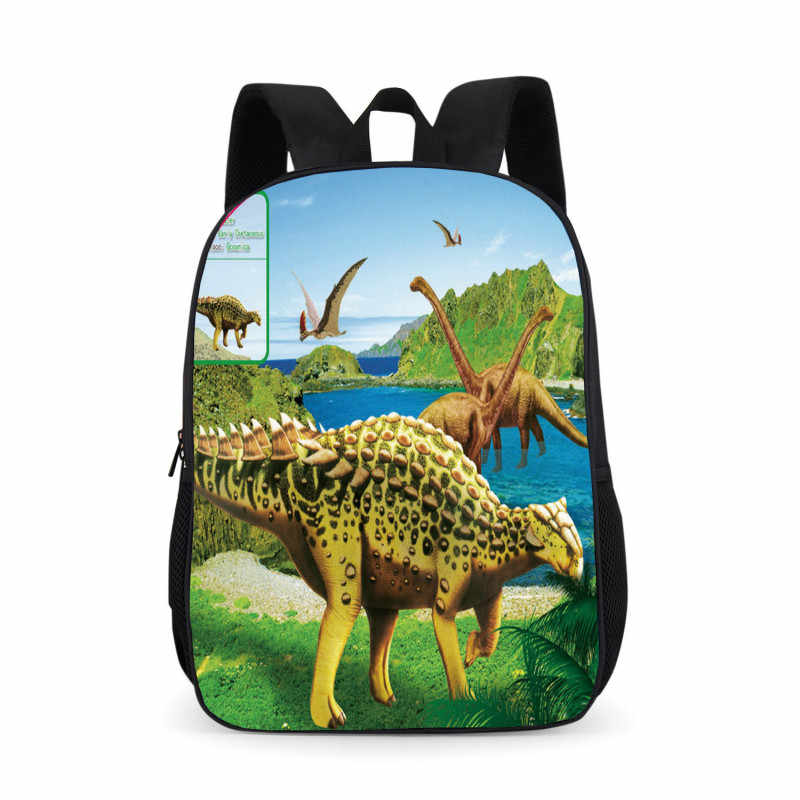 Непромокаемые ортопедические детские школьные рюкзаки для девочек и мальчиков с принтом динозавра Школьные сумки Bolsas mochila escolar