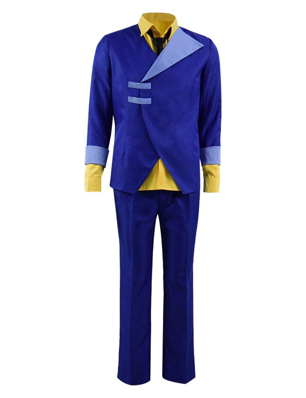 Cowboy Bebop Spike Spiegel Cosplay Costume Men's Full Set Anime Cosplay Suit