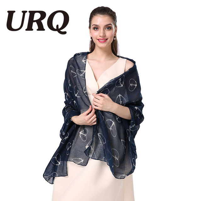 print love scarf for women long fashion Bandana Luxury brand design dot lady spring scarves shawl soft personal style 2017 new