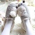 Winter Cute Cartoon Slippers Pregnant Women Men Couples Lovers Anti-Slip Plush Home Slippers Cotton Pantufa