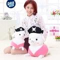 Pirata muñeca pequeña oveja ovejas juguetes de peluche alpacasso alpaca muñeca femenina regalo de cumpleaños al por mayor de juguetes de peluche
