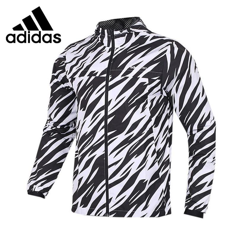 Original New Arrival 2018 Adidas Neo Label M FAV MESH L WB Men's  jacket Hooded Sportswear adidas original new arrival official neo down jk men s windproof jacket hooded sportswear cd2324