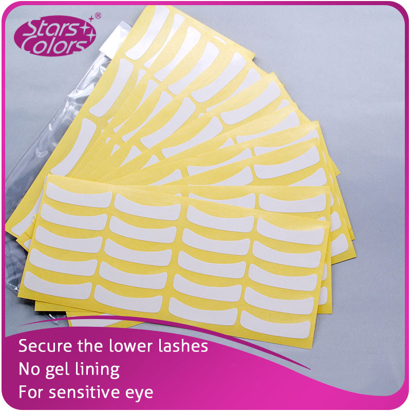 100 Pairs Ultra Thin White Paper Eye Patch For Eyelash Extension Beauty Makeup