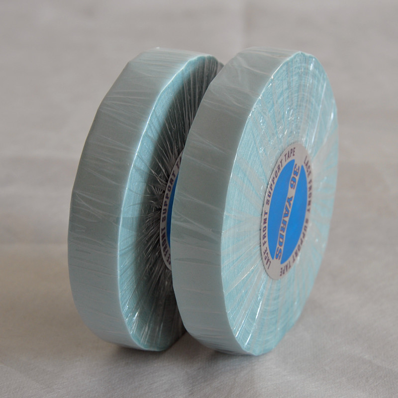1.9cm(3/4inch)*36Yards Blue Lace Front Support Tape Hair Double-Sided Adhesives Tape For Hair Extensions/Toupee/Lace Wigs1.9cm(3/4inch)*36Yards Blue Lace Front Support Tape Hair Double-Sided Adhesives Tape For Hair Extensions/Toupee/Lace Wigs