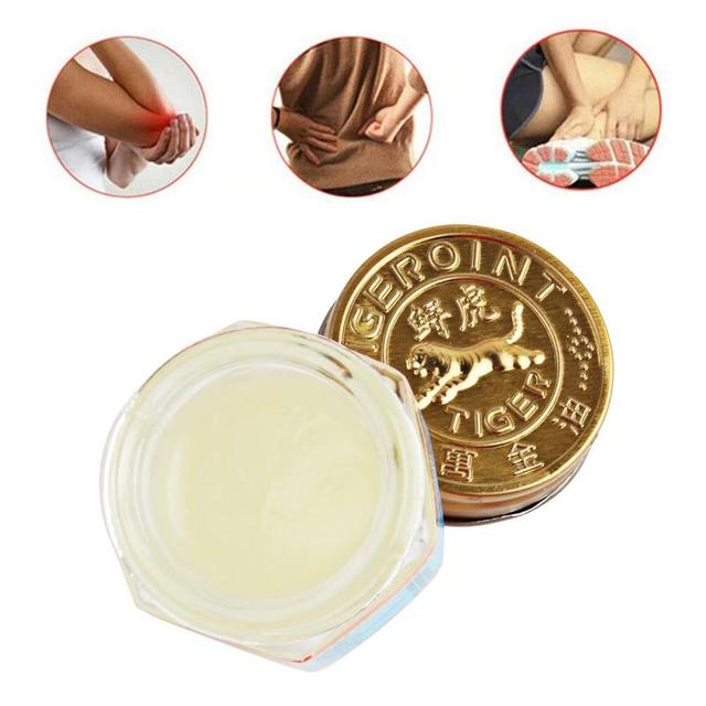 100% Original Thailand Painkiller Ointment White Tiger Balm Ointment Muscle Pain Relief Ointment Soothe itch 2