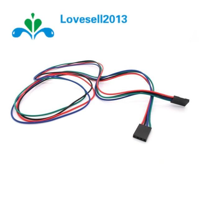 1PCS 4Pin 70cm Cable Set Female-Female Jumper Wire for Arduino 3D Printer Reprap