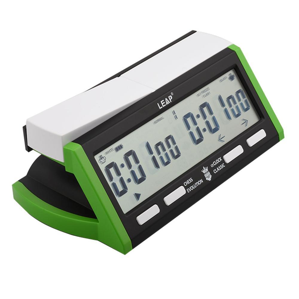 Bissextile PQ9918 horloge d'échecs numérique USB Charge multifonctionnel jeu de va compter jusqu'à bas minuterie d'alarme d'échecs