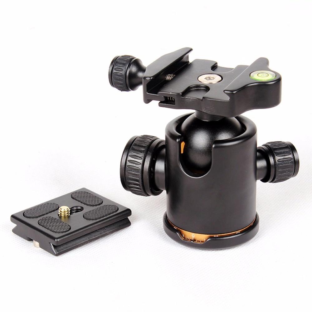 Q02 Camera Tripod Ball Head Ballhead With Quick Release Plate 1 4 Screw Original Q999