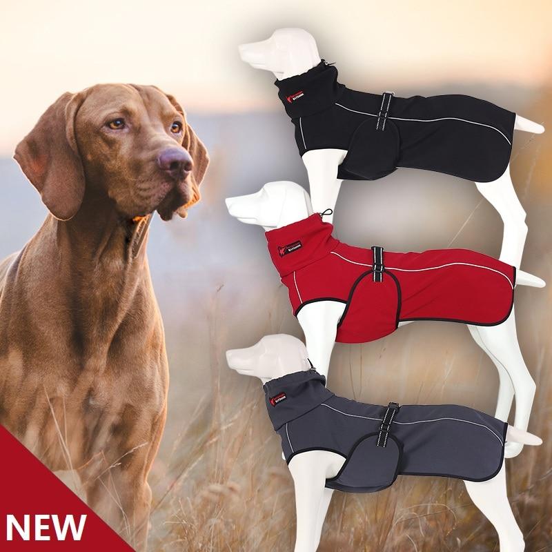 Dog Clothes Large Warm Coat