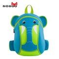 Nohoo impermeable 3d historieta de los niños mochilas escolares de neopreno elefante pequeña escuela mochilas para niñas