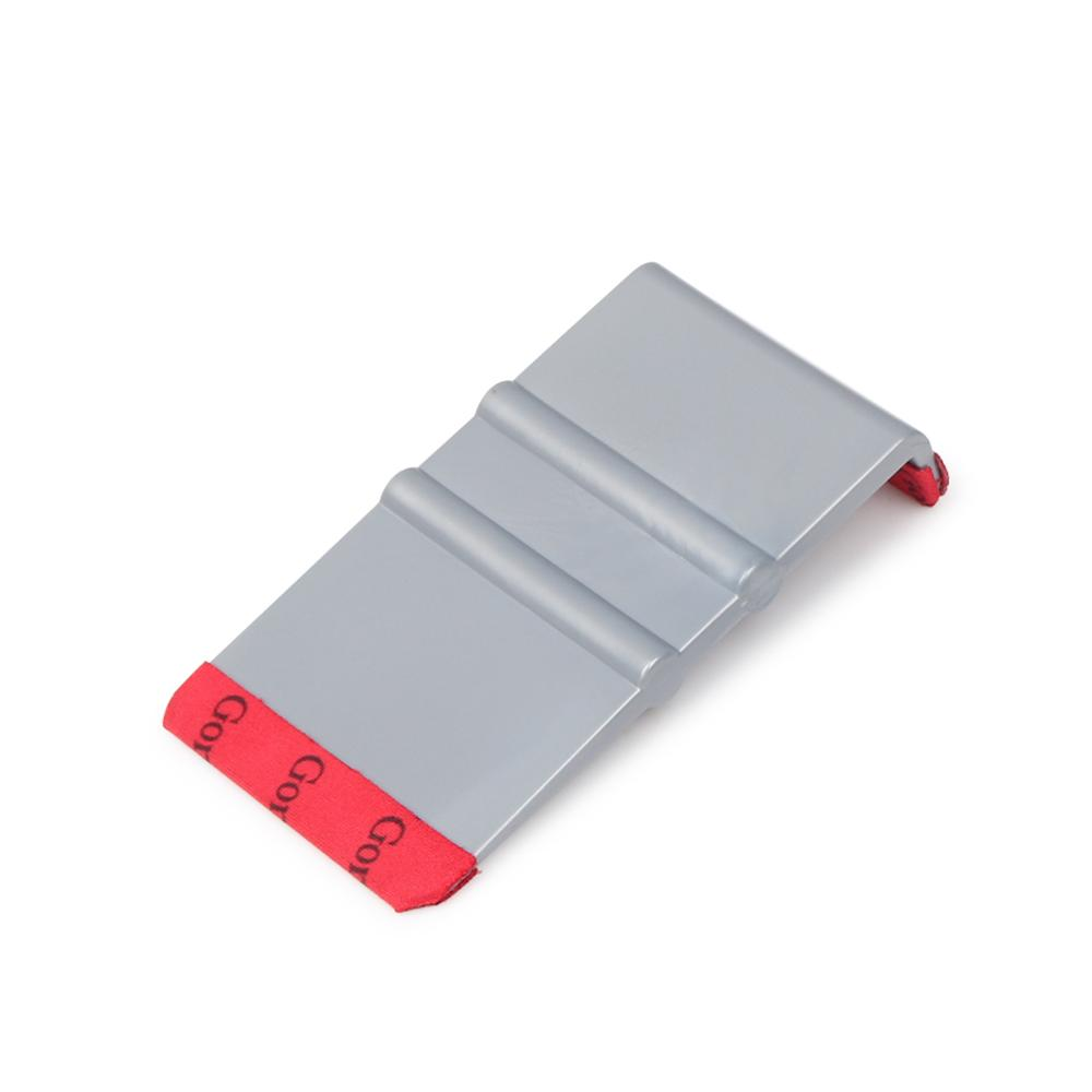 Foshio 90 Degree Vinyl Car Wrap Microfiber Squeegee Edge Scraper Carbon Fiber Film Stickers Wrapping Tool Auto Window Tint Tools