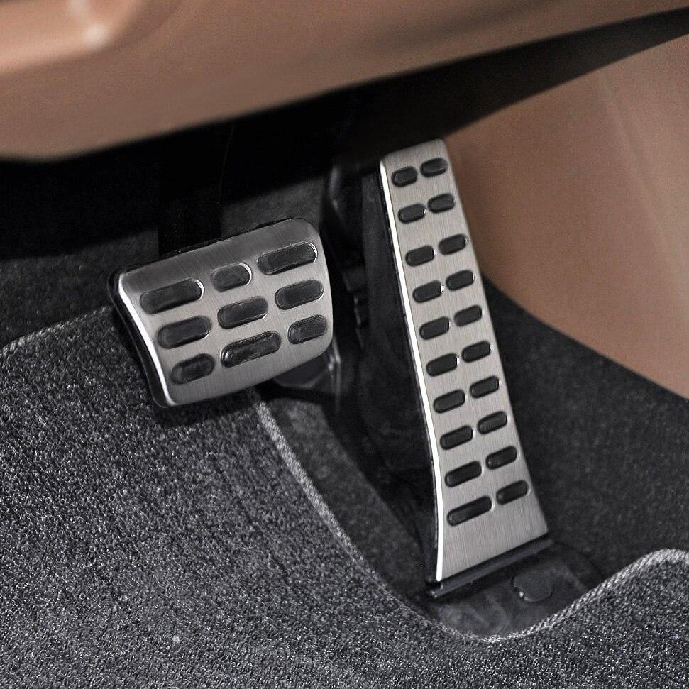 Non-Slip Car Gas Brake Pedals For Hyundai Sonata Tucson Kia Optima Sportage Sorento Stinger Stainless Steel Pad Accessories