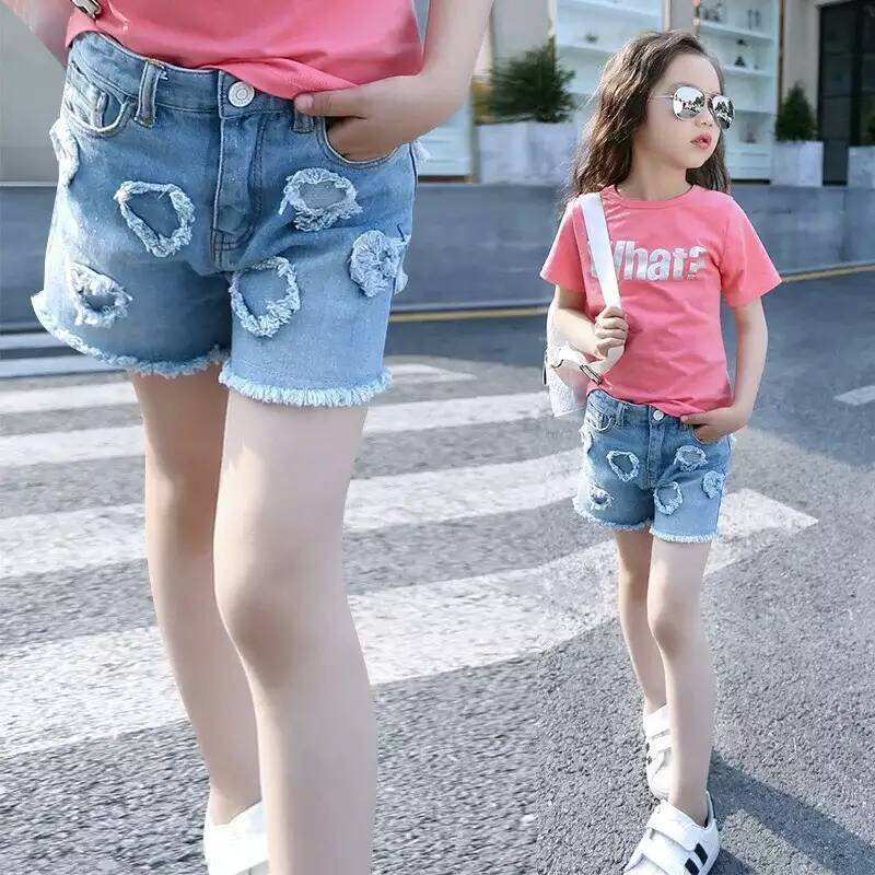 Online Buy Wholesale girls jean shorts from China girls jean ...