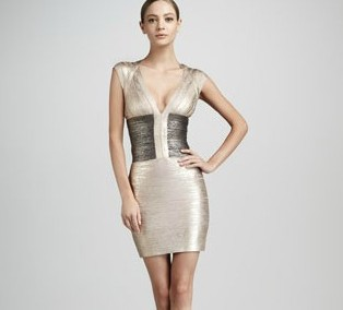 Online Get Cheap Silver Bandage Dresses -Aliexpress.com | Alibaba ...