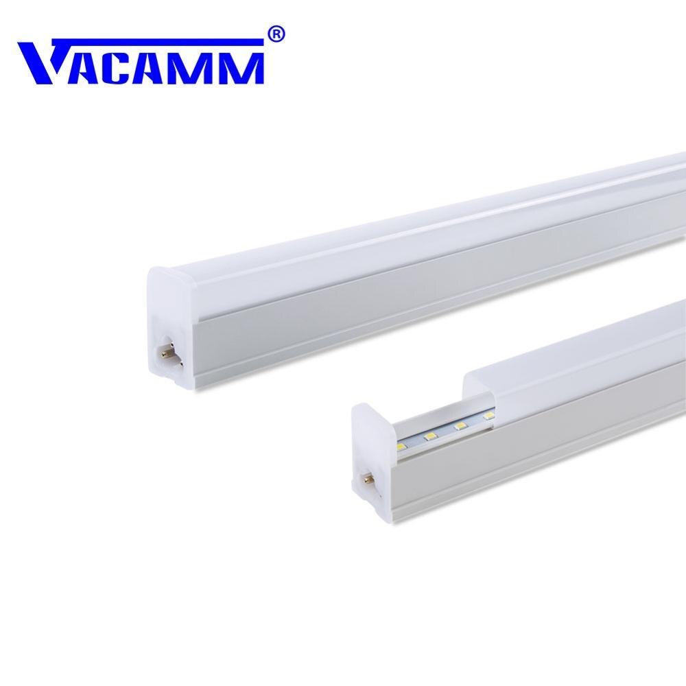 Impartial Vacamm Innovative 2pcs 2835 Smd Under Cabinet Strip Lighting Kitchen Led Light Aluminum Ac 220v Cold White/warm White/white Led Bulbs & Tubes