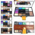 1 unid marca profesional 14 color ahumado de sombra de ojos tierra maquillaje naked paleta de sombra de ojos con el cepillo conjunto kit y1-5