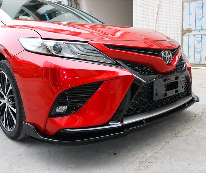 Auto Parts Coupons >> ABS Carbon Fiber Front Lip Splitters Bumper Aprons Cup ...