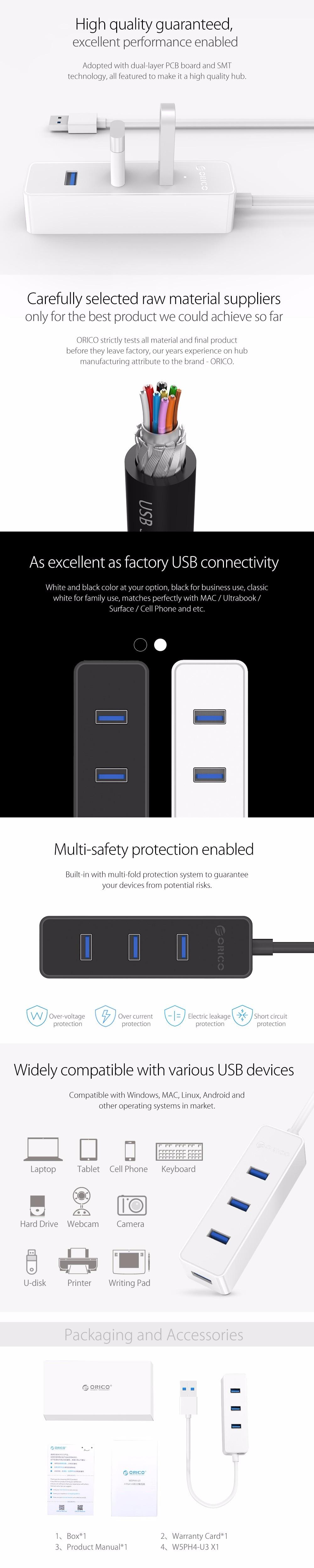 Orico W5ph4 New Upgrade White Portable 4 Port Usb 30 20 Hub Df4u U3 Ultra Mini Htb1rqbtlvxxxxxwxvxxq6xxfxxxm Htb1z5ymlvxxxxxdaxxxq6xxfxxxy