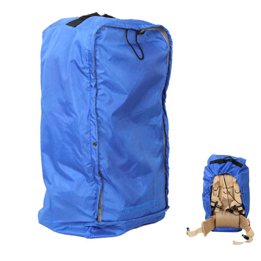Aircraft Transport Full Protector Backpack Cover 35L 40L 45L 50L 55L 60L 65L 70L Waterproof Rain Cover Backpack Plane Dust Cover