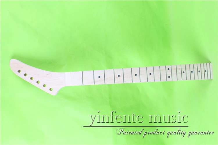 XJ-0070#    right  25.5 Electric guitar neck   Bolt on  maple       fingerboard fine quality  22 fret casio xj m141